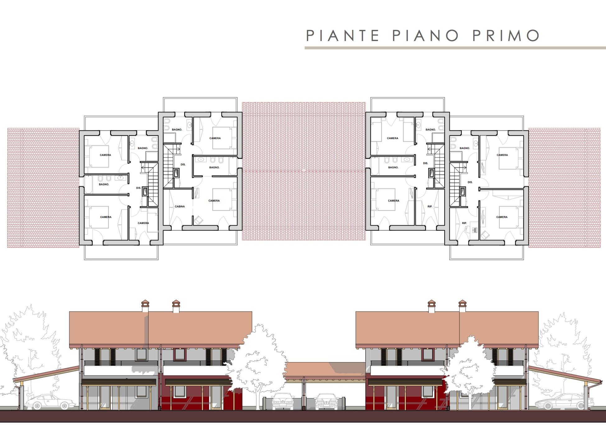 Progetto villetta 2 piani op67 regardsdefemmes for Progetti villette moderne