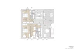 Nuovo Tricamere con taverna e terrazzo vivibile