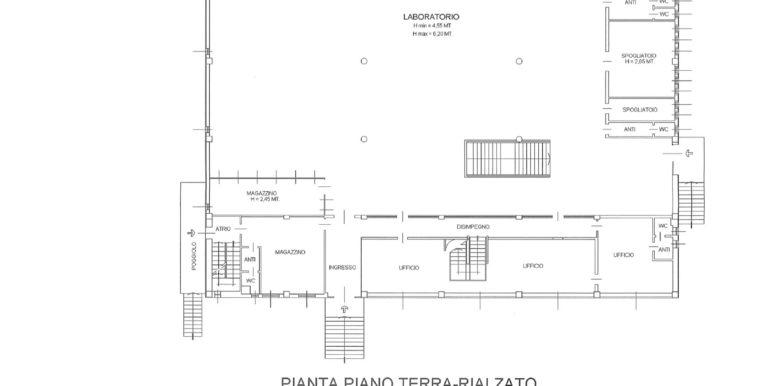 Capannone 1300mq Udine Nord