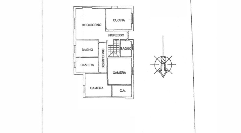 Villa indipendente tricamere a Pagnacco