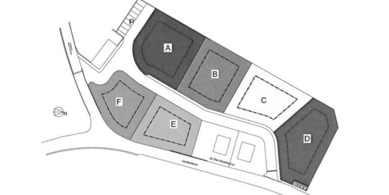 Terreni urbanizzati a partire da 780mq