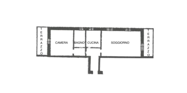 Mini appartamento panoramico di 70mq