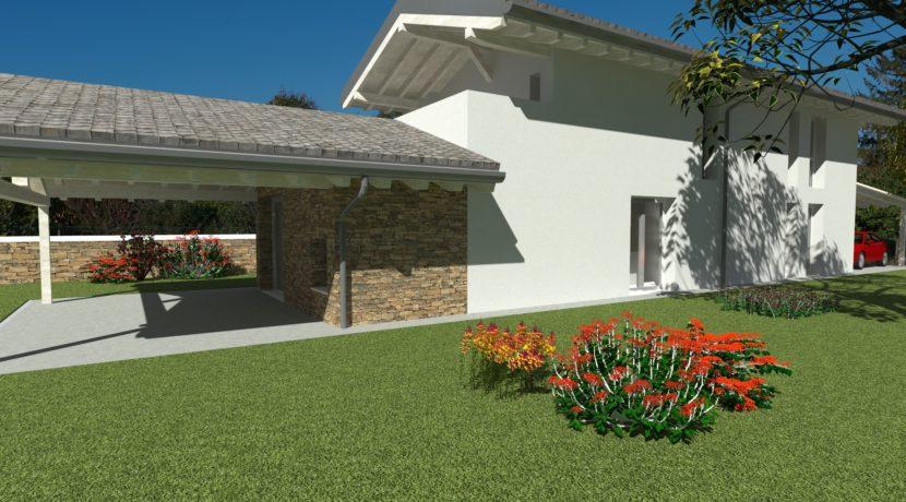 Villa indipendente tricamere triservizi