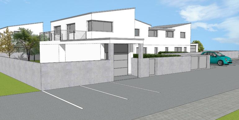 Villa a schiera centrale di prossima realizzazionea