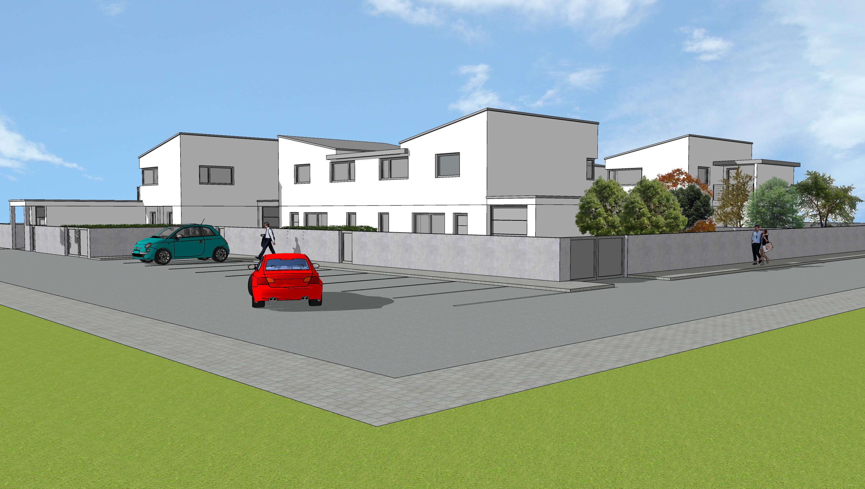 Villa a schiera centrale di prossima realizzazione a Udine Sud