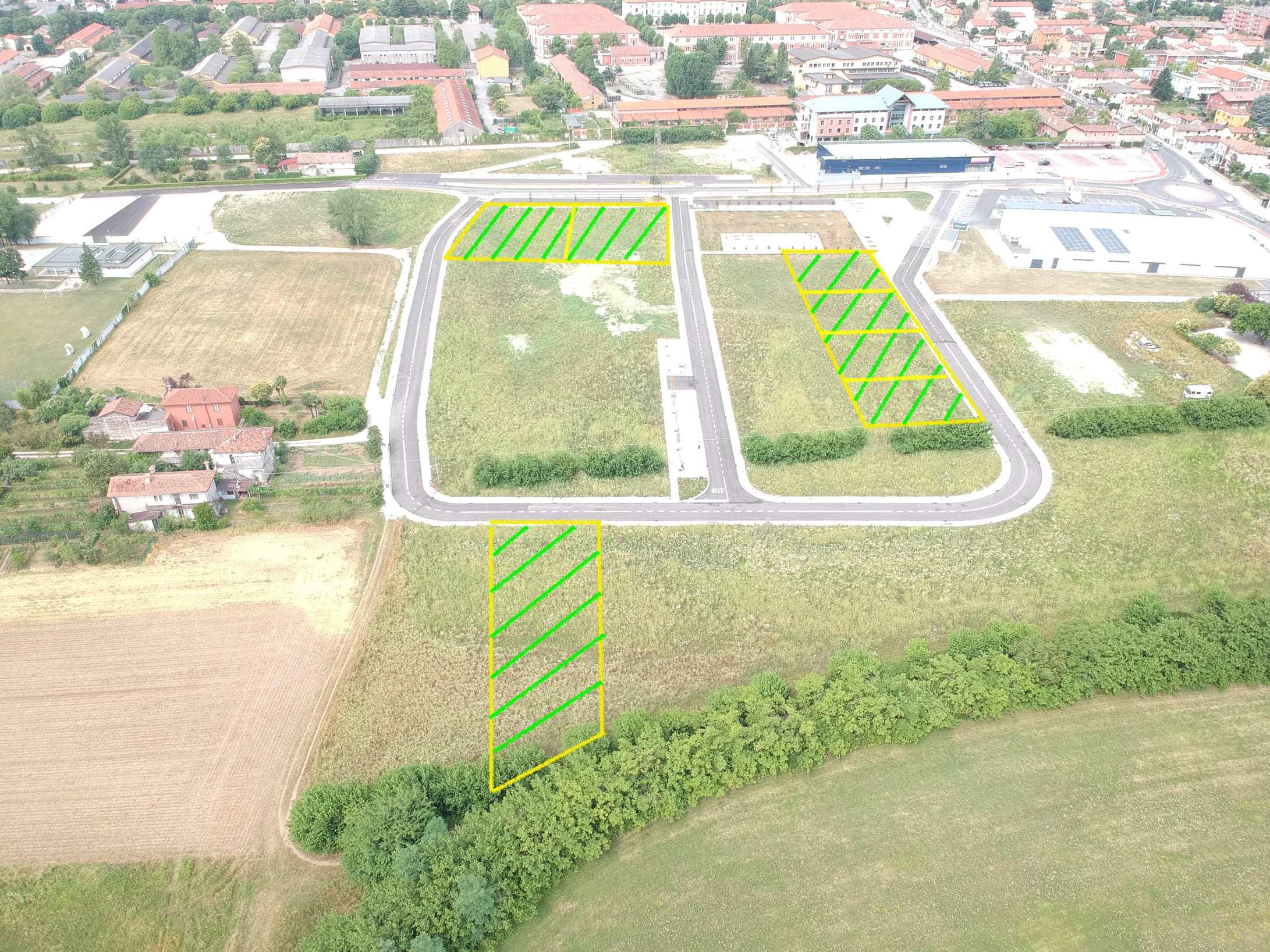 Terreni residenziali da 612mq