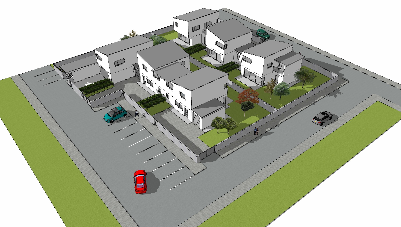 Nuova realizzazione di ville di testa a Udine Sud