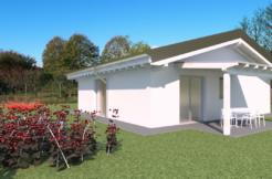 Casa moderna bicamere con giardino