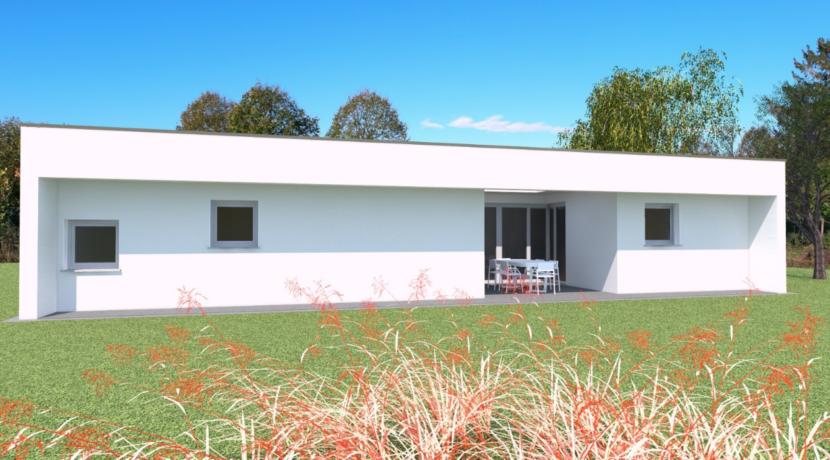 Villa tricamere di nuova realizzazione