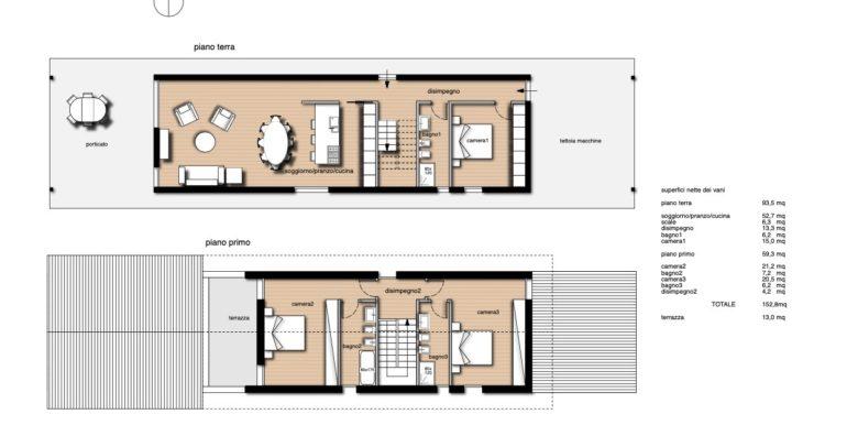 Nuova villa indipendente tricamere triservizi