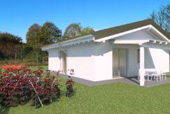 Moderno villino bicamere con giardino