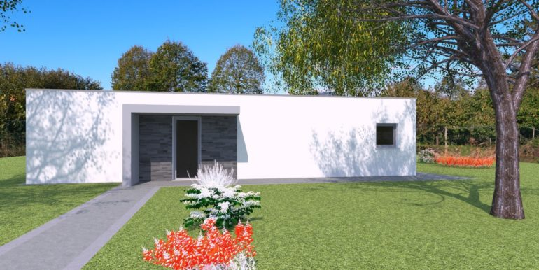 Moderna villa bicamere