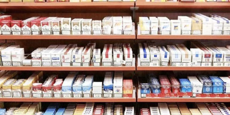 Attività di tabacchi con proprietà dei muri